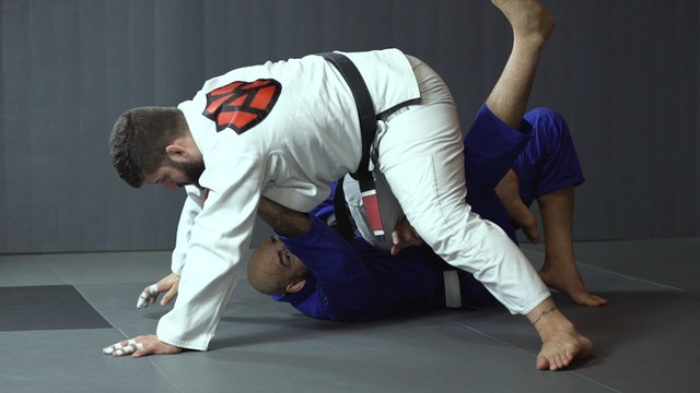 Kicking to Elevate to Move Around [BJJ-04-02-23]