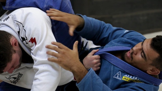 Flower Sweep to the Back [BJJ-04-01-10]
