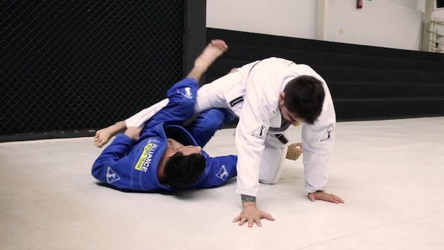 Waiter Sweep to Back Take [BJJ-04-02-17]