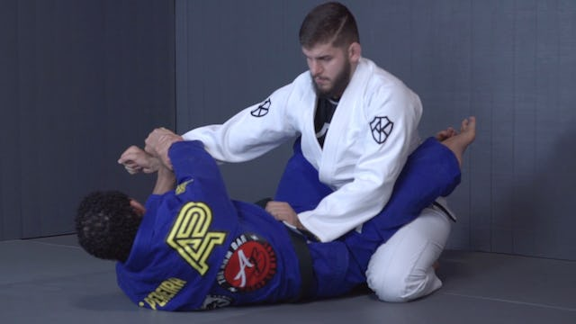 Cross Arm to the Back [BJJ-04-01-12]