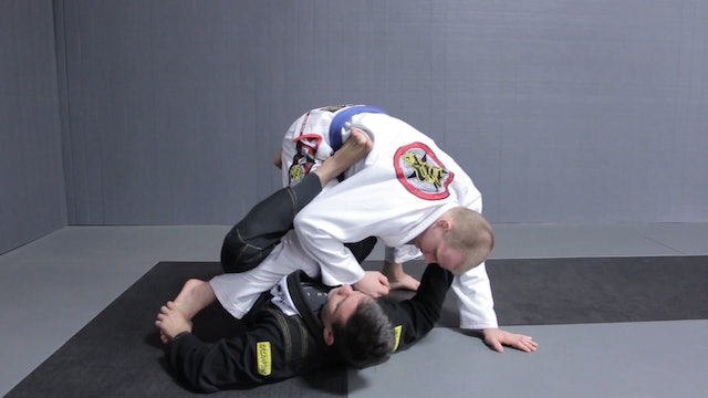 Pushing the Foot to Sweep to the Side [BJJ-04-08-02]