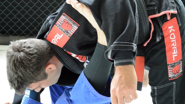 Collar and sleeve to mount [BJJ-04-02-03]