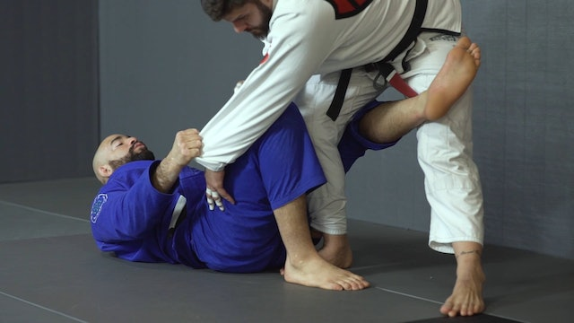DLR X Hook to Over Head Sweep [BJJ-04-02-21]