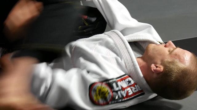 Back Step to Knee on Belly [BJJ-03-07-01]