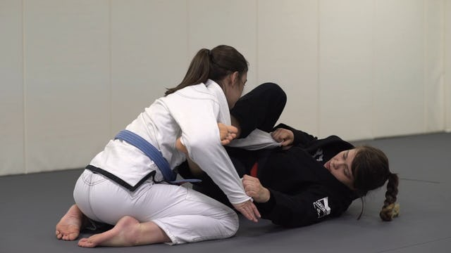 Spider Guard to Lasso Control [BJJ-07-02-06]