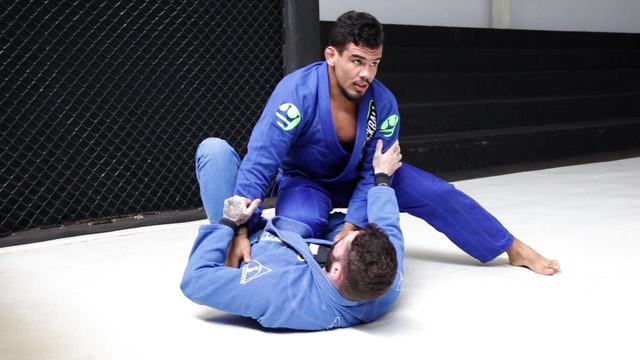Knee Cut to Shoulder Pressure [BJJ-03-02-05]
