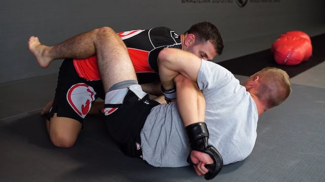 MMA - Triangle from Ground and Pound [BJJ-05-01-10]