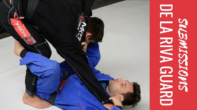 Submissions - De La Riva Guard