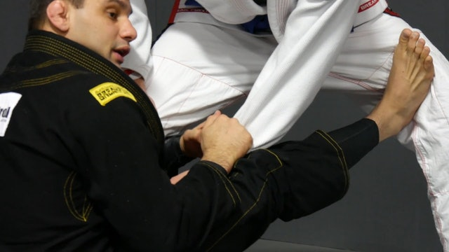 Sit Up to Steering Wheel Sweep [BJJ-04-02-01]