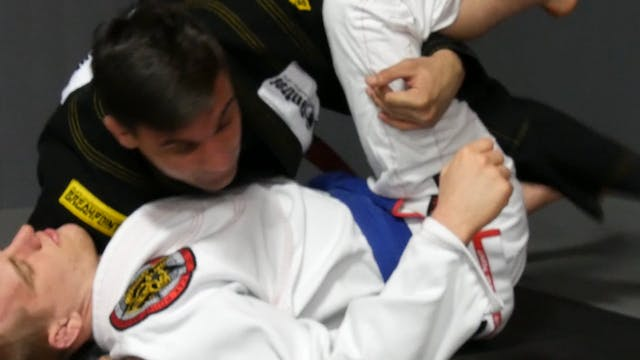Knee on the Ground and Back Step [BJJ...