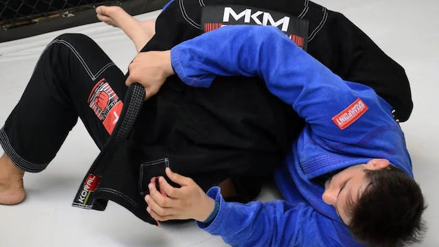 Forward Roll to the Back [BJJ-04-03-06]