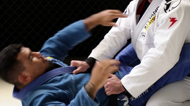 Cross Collar Choke to Arm Bar [BJJ-05-01-12]