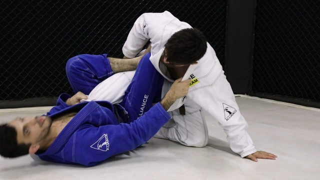 Butterfly Guard to SLX Guard [BJJ-04-05-05]