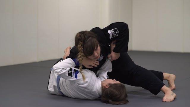Knee Cut Punch Pass [BJJ-03-03-08]