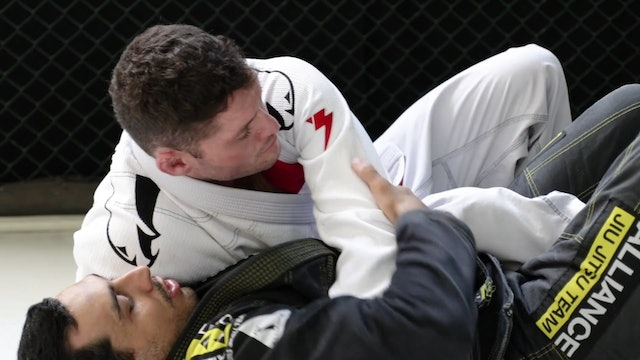 Reverse Half Guard to Leg Drag [BJJ-04-03-09]