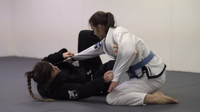Hook the Leg to Triangle [BJJ-05-04-06]