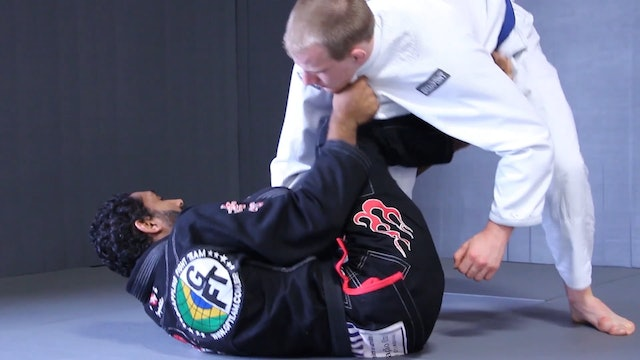 DLR Scissor Sweep [BJJ-04-02-07]