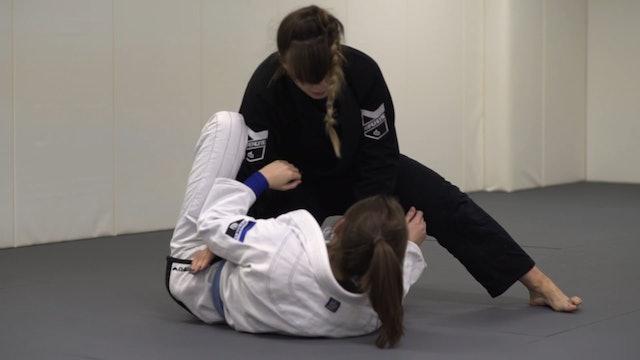 Pressure Knee Cut [BJJ-03-03-09]