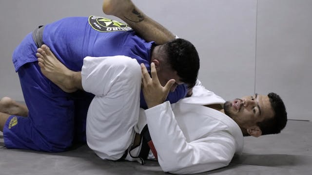 Triangle from climbing guard