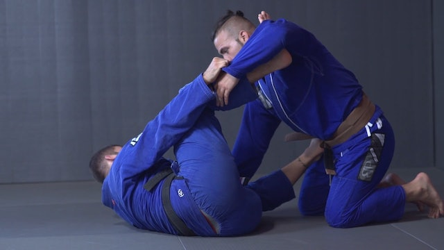 Fake the Sweep to Triangle [BJJ-05-04-07]