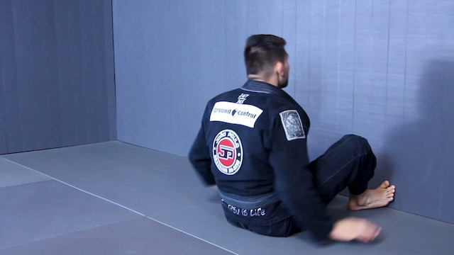 Berimbolo Using the Wall [BJJ-07-01-06]