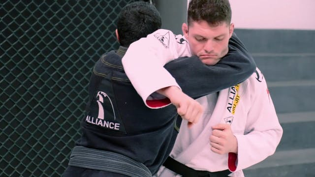 Straight Punch Defense [BJJ-01-01-07]