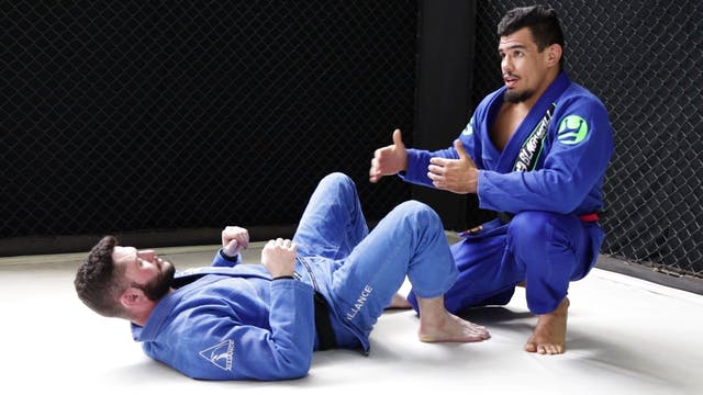 Knee Cut to Under Hook [BJJ-03-02-06]