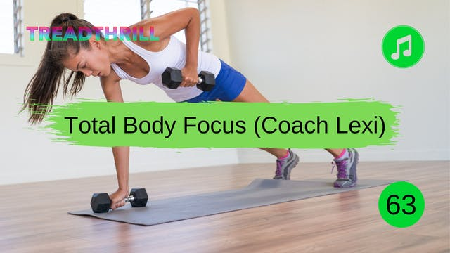 Strength Choreo Workout 63 (Coach Lexi)
