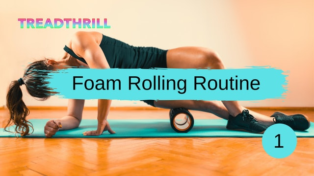 Post Workout Foam Roll Routine (Coach Larissa)