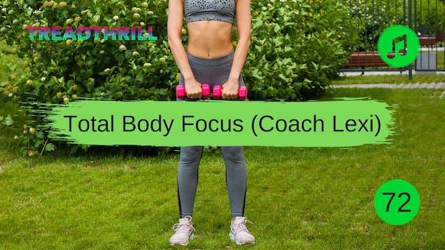 Strength Choreo Workout 72 (Coach Lexi)