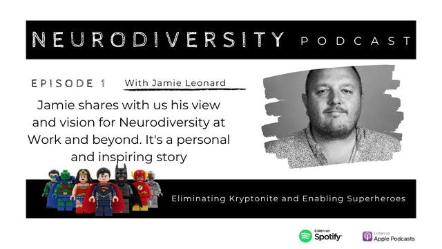 [PODCAST] Neurodiversity with Theo Smith