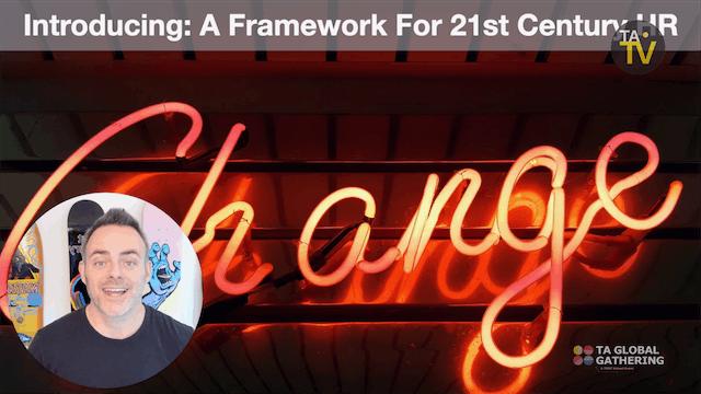 21st Century HR: A Framework for Mode...