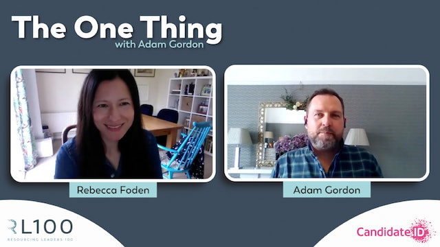 """""""The Right Process to Achieve the Best Outcome"""" - feat. Becky Foden"""