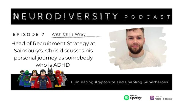 Chris' Journey with ADHD
