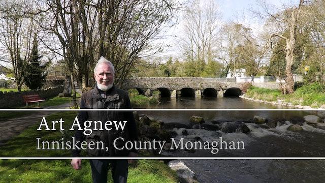 Art Agnew, Inniskeen, County Monaghan