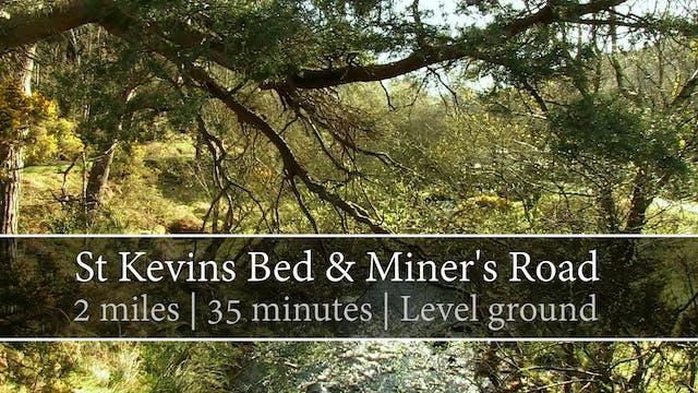St Kevin's Bed & Miner's Road, Glenda...