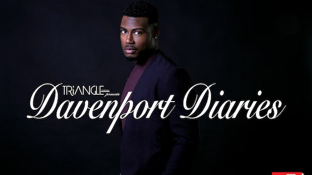 "Meet Justin-Rayne Bryant will be playing the new character of Christian Forbes on Davenport Diaries and season 3 of Triangle"" the WEB Series"