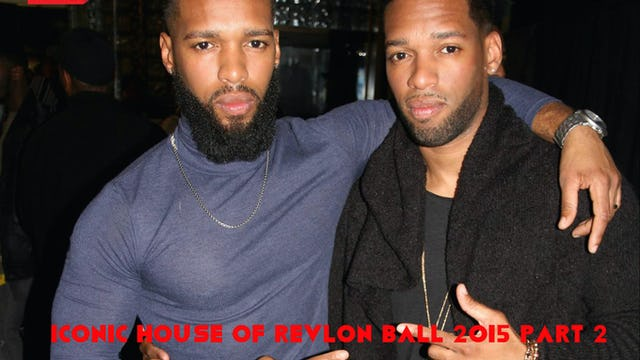Iconic House of Revlon Ball 2015 Part 2