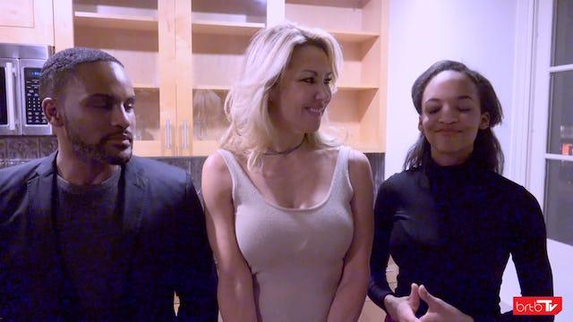 Behind the scenes interview with actors Kenyon L O'Brien ,Deborah Fuhrman, and Erica Moore