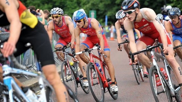 2015 ITU World Triathlon London Elite Men
