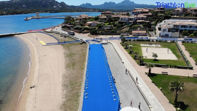 Arzachena is ready for the World Triathlon Cup