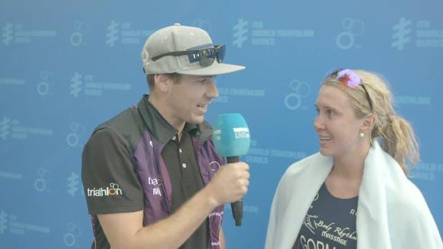 Interview with Tamara Gorman after WT...