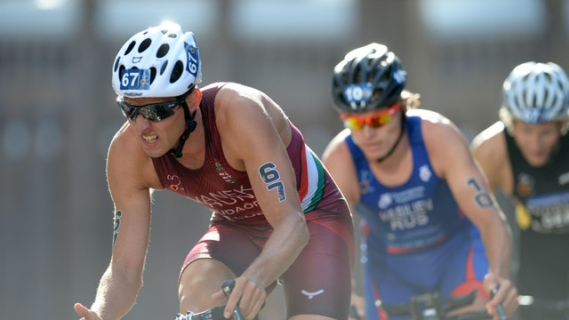 2015 ITU World Triathlon Auckland Elite Men