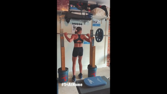 Gym at home with Natalie Van Coevorden