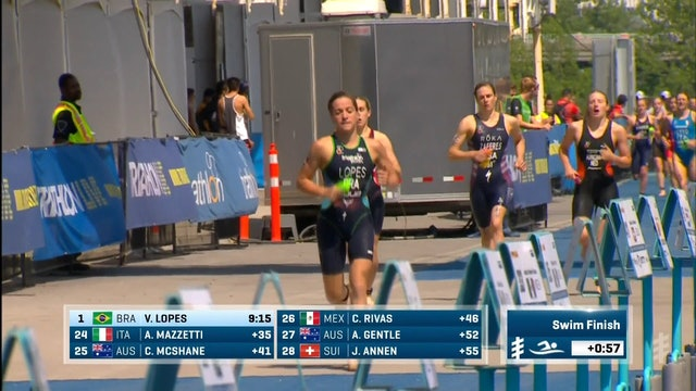Groupe Copley World Triathlon Montreal: Women's Highlights