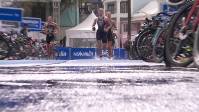MS Amlin World Triathlon Bermuda: Women's Highlights