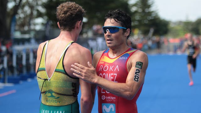 Elite Men - New Plymouth ITU Triathlo...