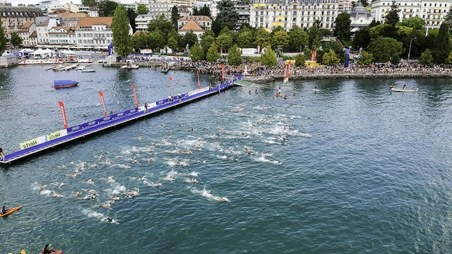 2018 Lausanne ITU Triathlon World Cup Elite Men