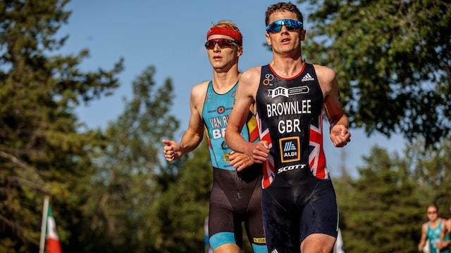 ITU World Triathlon Edmonton: Men's highlights