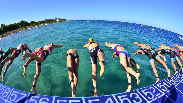 2016 ITU World Triathlon Grand Final Cozumel Elite Women